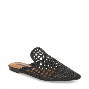 Topshop Knot Woven Mules